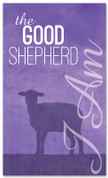 I AM 36 Good Shepherd purple - xw