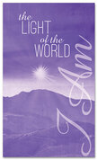 I AM 33 Light of the World purple - xw