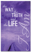 I AM 31 Way Truth Life Purple - xw