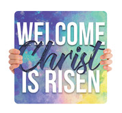 Welcome Christ is Risen HHE017
