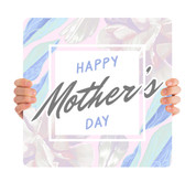 Happy Mother's Day - Floral Square MD095