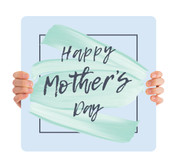 Happy Mother's Day - Green Paint MD096