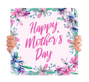 Happy Mother's Day - Pink Flowers MD097