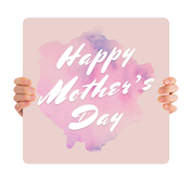 Happy Mother's Day - Pink Watercolor MD098
