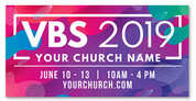 vbs 2019 banner liquid design