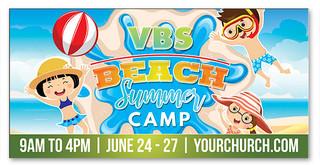 VBS Summer Camp Beach