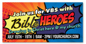 vbs Bible Heroes Banner