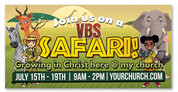 vbs safari theme banner