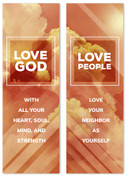 love God love people clouds banner