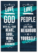 Great Commandment Banners in a set of 2