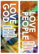 Love God Love People mosaic explosion version 1