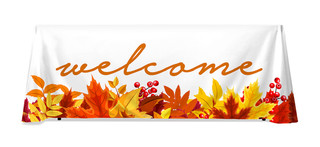 Tablecloth banner 62