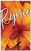 Thanksgiving banner Rejoice Festive Orange