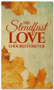 Vintage Thanksgiving banner design Steadfast love