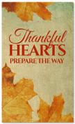 Vintage Thanksgiving banner design Thankful Heart