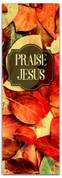 Thanksgiving banner Praise Jesus