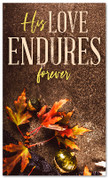 thanksgiving banner his love endures