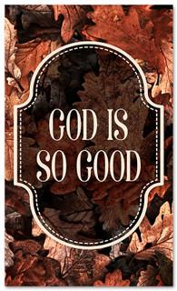 thanksgiving banner God is so Good