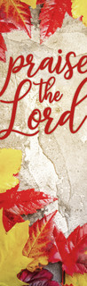 thanksgiving banner praise the Lord