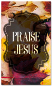 thanksgiving banner praise Jesus