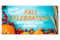 Outdoor Fall Celebration Banner 24A