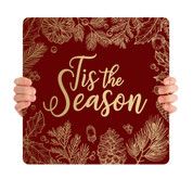 Red Gold Leaf - Tis the Season - CHH003