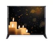 Candle Glow Backdrop  - CBB027