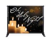 Candle Glow Backdrop - Oh Holy Night - CBB028