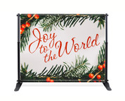 Festive Berries Backdrop - Joy to the World - CBB032