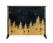 Gold Trees Booth Backdrop - CBB041