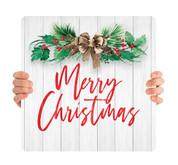 Bow Shiplap - Merry Christmas - CHH0012