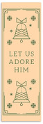 Native Stamp - Let Us Adore Him - CB001