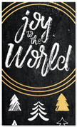 Gold Accent Tree - Joy to the World - CB010 xw
