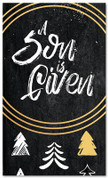 Gold Accent Tree - A Son is Given - CB013 xw
