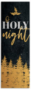Gold Holly Trees - O Holy Night - CB029
