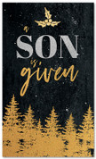 Gold Holly Trees - A Son is Given - CB028 xw