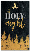 Gold Holly Trees - O Holy Night - CB029 xw