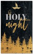 Gold Holly Trees - O Holy Night - CB029 xw