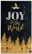 Gold Holly Trees - Joy to the World - CB030 xw