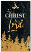 Gold Holly Trees - Christ is the Lord - CB031 xw