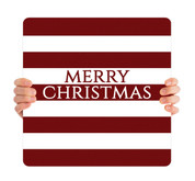Red Stripes - Merry Christmas - CHH017