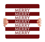 Red Stripes - Merry - CHH019