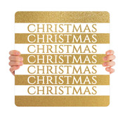 Gold Stripes - Christmas - CHH022