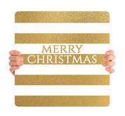Gold Stripes - Merry Christmas - CHH024