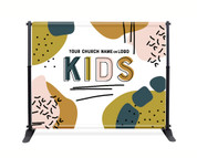 Kids Backdrop - Color Block 1