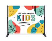 Kids Backdrop - Color Block 2
