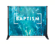 8x10 baptism backdrop banner