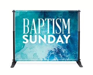 8x10 baptism backdrop banner