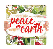 Watercolor Shiplap - Peace on Earth - CHH049