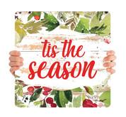 Watercolor Shiplap - Tis the Season - CHH050